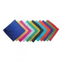 Silk Squares 18 Inch