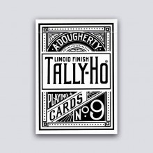 Cards White Tally-Ho (Fan Back) Playing Cards TiendaMagia - 1