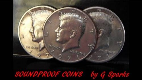 Magic with Coins Soundproof Coins by G Sparks Magic TiendaMagia - 1