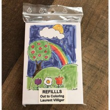 Refill (50) for Out To Coloring (STAGE) by Laurent Villiger