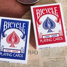 Bicycle Chic Gaff Deck - Blue
