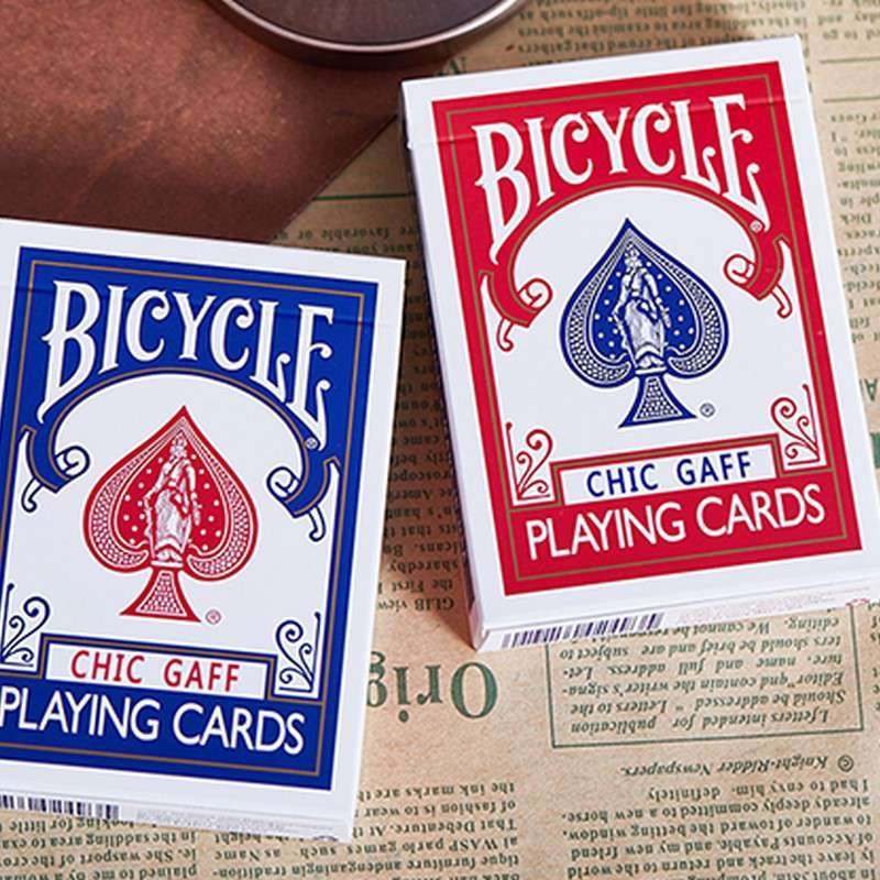 Bicycle Chic Gaff Deck - Red