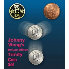 Trinity Coin Set Deluxe Edition (con DVD) de Johnny Wong
