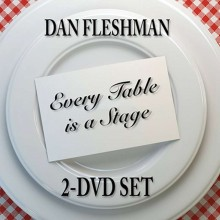 DVD - Every Table is a Stage (2-DVD Set) de Dan Fleshman