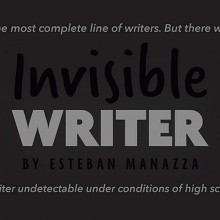 Invisible Writer (Pencil Lead) by Vernet