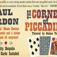 The Corner of Piccadilly (Tarot Size) de Paul Gordon