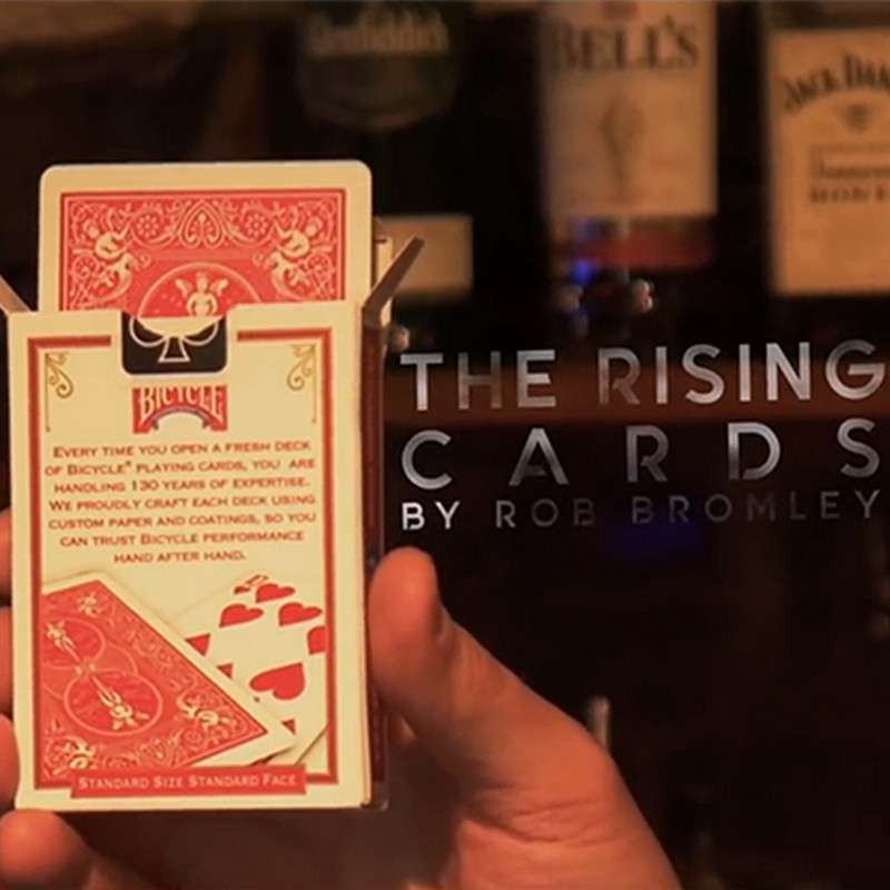 Alakazam Magic Presents The Rising Cards Blue (DVD and Gimmicks) by Rob Bromley - Blue