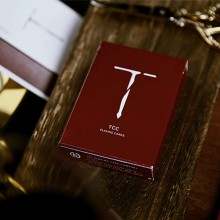 New T Playing Cards (Red)