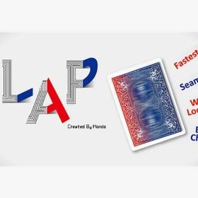 Carta Flap Moderna (Rojo a Azul) - Hondo