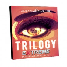 DVD - Trilogy Extreme (Gimmick and DVD) by Brian Caswell and Alakazam