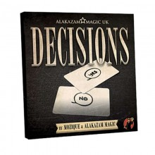 DVD - Decisions Blank Edition (DVD and Gimmick) by Mozique