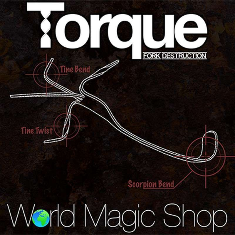 Torque (Gimmick and Online INstructions) by Chris Stevenson and World Magic Shop