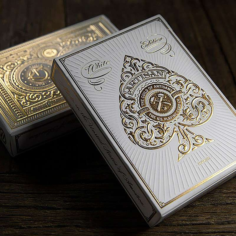 Artisan Playing Cards (White) by Theory 11