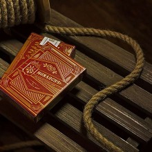Monarchs Playing Cards (Red) by Theory 11