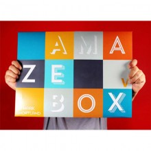 Amazebox Blanca - Gimmicks e Instruc Online - Mark Shortland y Vanishing Inc