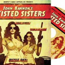 DVD - Twisted Sisters 2.0 (DVD and Gimmick Bicycle by John Bannon