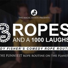 DVD - 3 Ropes and 1000 Laughs by Cody Fisher