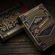 Monarchs Playing Cards - Blue - Theory 11
