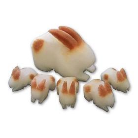 Conejo 3D de esponja 12 cm – Goshman