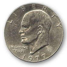 Eisenhower Dollar (Single Coin Ungimmicked)