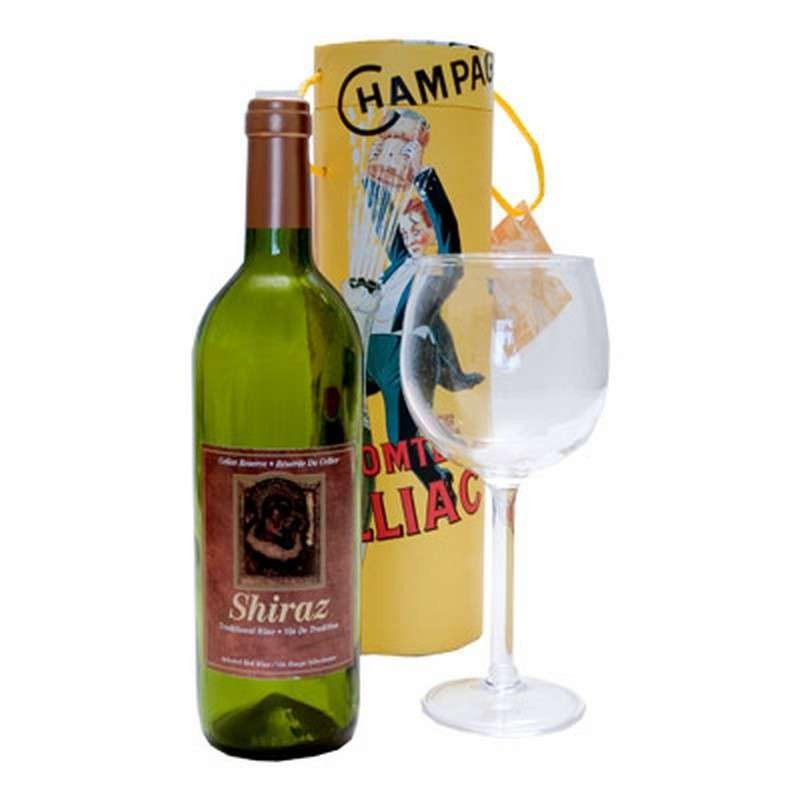 Airborne Wine And Glass by Visual Magic
