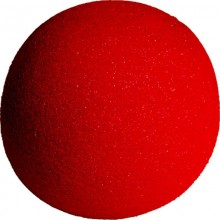 """4"""" Super Soft Sponge Ball (Red) from Magic by Gosh (1 each)"""
