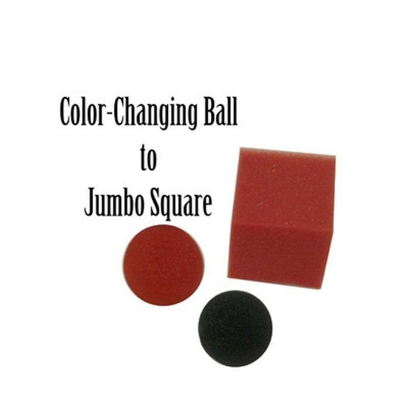 Jumbo Color Changing Ball to Square - Magic by Gosh