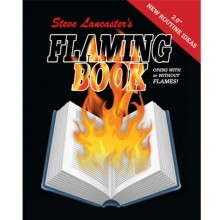 Flaming Book - blank