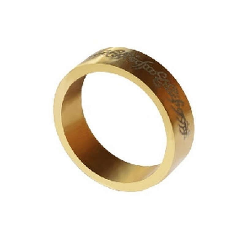 Magnetic Ring - Gold - Letters - Large (20 mm)