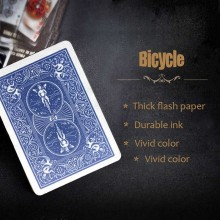 Cartas Flash - Dorso Bicycle Azul (10 u.) Panda Magic