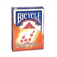 Blank Back Bicycle Deck - Poker Size