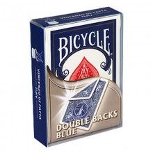 Bicycle Double-Backed Blue/Blue Deck - Poker Size