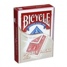 Bicycle Double-Backed Red/Red Deck - Poker Size