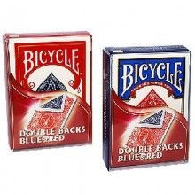 Bicycle Double-Backed Blue/Red Deck - Poker Size