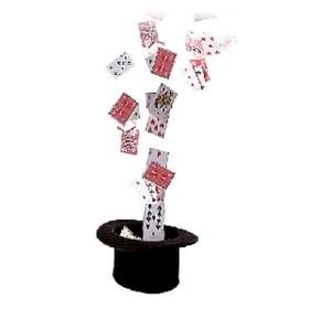 Fuente de cartas con control remoto