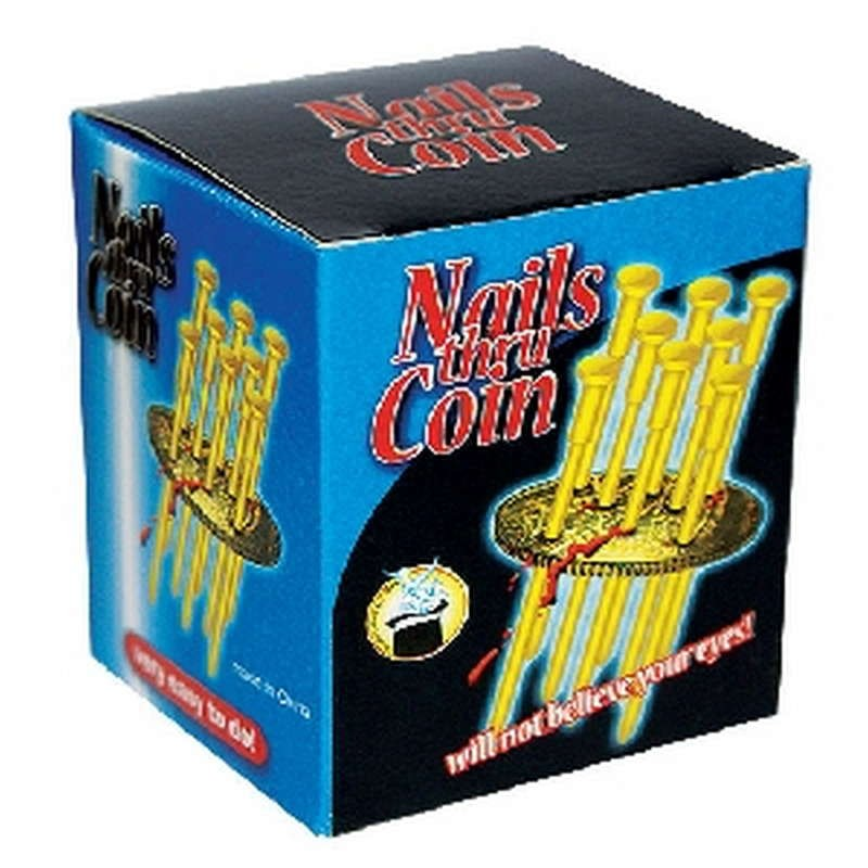 Nails Thru Coin - With 8 Nails