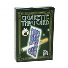 Cigarette through card – Bicycle