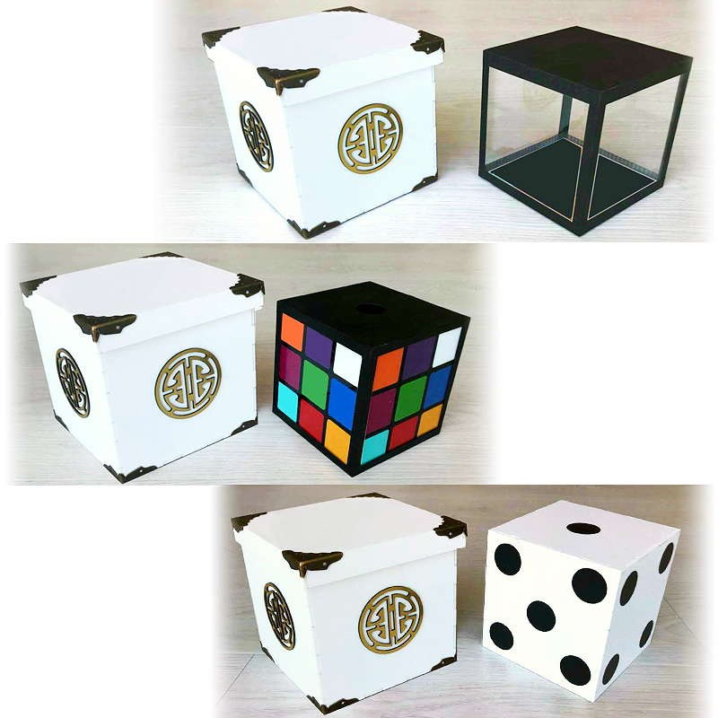 Tora Crystal Cube to Rubik and Dice