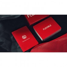 FLEXIBLE (Red) Playing Cards by TCC