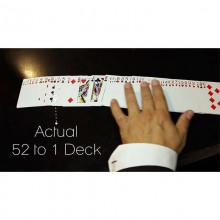The 52 to 1 Deck by Wayne Fox and David Penn RED