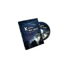 DVD - X Marks The Spot (w/Cards)  - Justin Miller