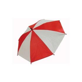 Sombrillas Relámpago  - Roja y Blanca - 1 parasol - MH Production