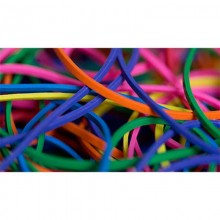 Joe Rindfleisch's Rainbow Rubber Bands by Joe Rindfleisch