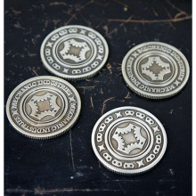 Full Dollar Coin (Gun Metal Grey) - Mechanic Industries