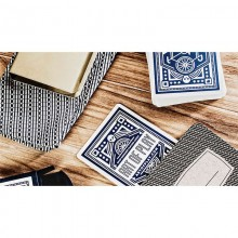 Blue Wheel Playing Cards by Art of Play
