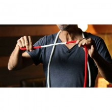 The Amazing Acrobatic Knot Red & White (With Extra Knot & Online Instructions) by DARYL