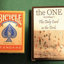 Card Tricks The One (Red) by Strixmagic TiendaMagia - 3