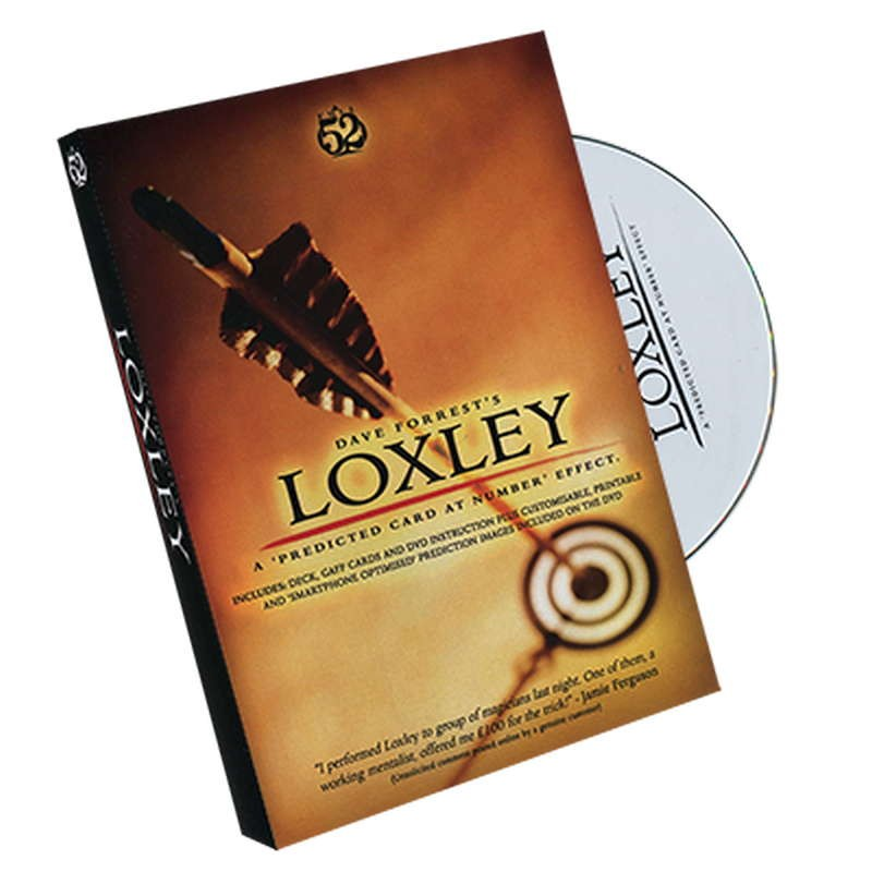 Loxley by David Forrest - DVD + Gimmick