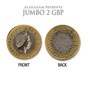 Moneda Jumbo 2 GBP (6,8cm) - Alakazam
