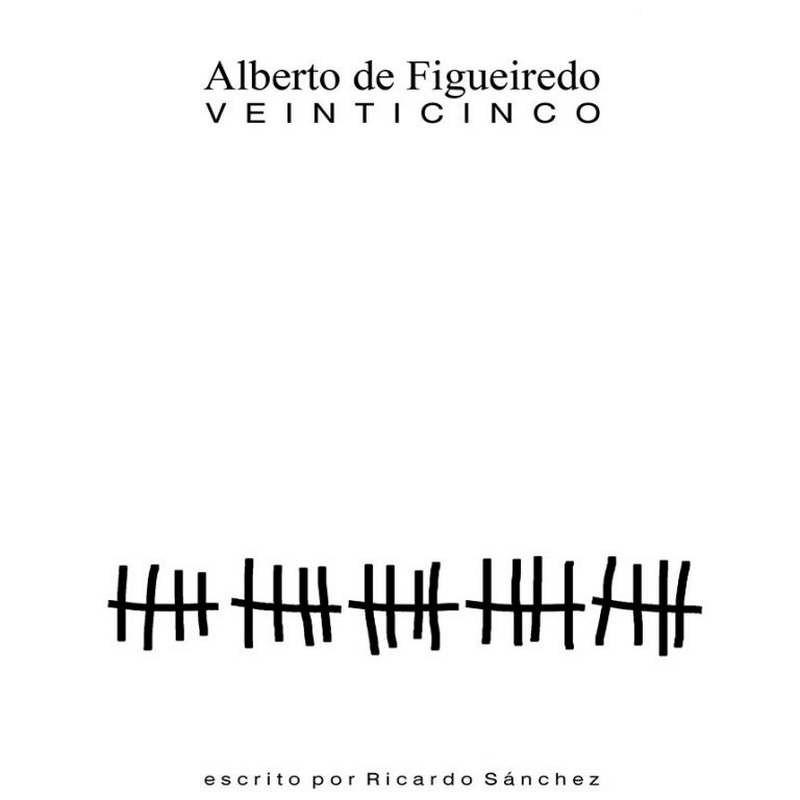 Veinticinco de Alberto de Figueiredo - Book in spanish